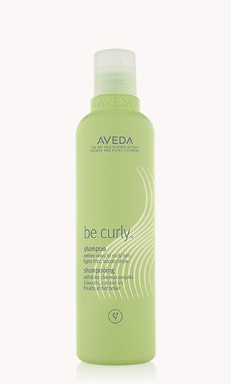 "be curly<span class=""trade"">™</span> shampoo"