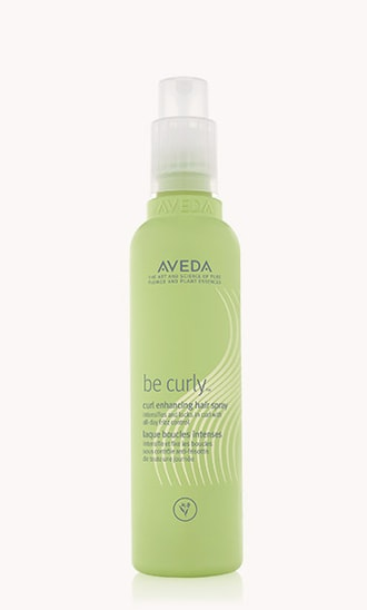 "be curly<span class=""trade"">™</span> curl enhancing hair spray"